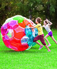 Light-Up Kaleidoscopic GBOP™ LED Ball   zulily