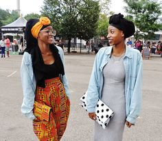 Kente cloth pants and clutch Hipster Grunge, Grunge Goth, African Wear, African Attire, African Dress, African Style, African Women, African Inspired Fashion, African Fashion