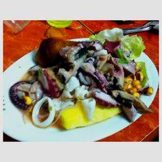 Ceviche: peruvian dish