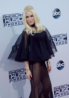 Recording artist Gwen Stefani arrives for the 43rd annual American Music Awards held at Microsoft Theater in Los Angeles on November 22, 2015. Photo by Jim Ruymen/UPI
