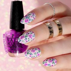 Gel Nails Designs for Your Complete Look ★ See more: http://glaminati.com/gel-nails/