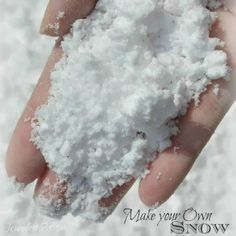 Erupting Snow Recipe
