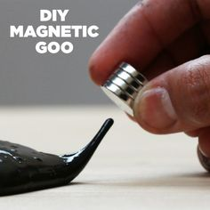 Pin it! | This DIY Magnetic Goo Will Blow Your Mind