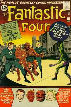 Fantastic Four #11. First appearance of The Impossible Man and Willie Lumpkin