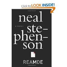 "Reamde, by Neal Stephenson.  ""...a high-intensity, high-stakes, action-packed adventure thriller in which a tech entrepreneur gets caught in the very real crossfire of his own online war game.""  THIS BOOK IS SUPER GOOD!"