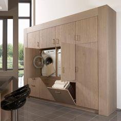 Laundry Bathroom Combo, Laundry Cupboard, Laundry Room Layouts, Laundry Room Remodel, Bathroom Interior Design, Interior Design Living Room, Laundry Room Design, Bathroom Renos, Küchen Design