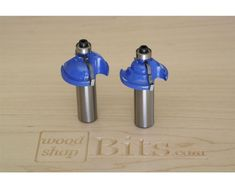 Woodshopbits Classical 2-Piece Router Bit Set - This Woodshopbits classical 2-piece router bit set is perfect for making fancy decorative edges. By raising the routing unit up or down, the classical bit can make a number of decorative profiles. The carbide-tipped bit set is priced right for the average woodworker and is a good addition to any woodshop. This set has upgraded carbide and will last through many projects.