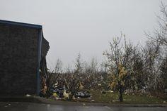 Scenes from Mt. Juliet after an EF2 tornado strike on Jan. 30.