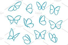 Butterfly outline tattoo butterflies silhouettes for symbols icons and tattoos design simple butterfly outline tattoo . Easy Butterfly Drawing, Butterfly Outline, Butterfly Sketch, Cute Butterfly, Butterfly Design, How To Draw Butterfly, Henna Butterfly, Simple Butterfly Tattoo, Easy Drawing Steps