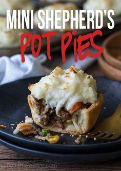 Mini Shepherd's Pot Pies Recipe