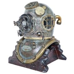 1916 Morse US Navy MK 5 Nautical Dive Helmet