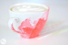 DIY. Marble mug