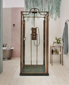 the ultimate guide to luxury plumbing — the delight of design Shower Units, Shower Systems, Bathroom Colors, Bathroom Sets, Black And Gold Bathroom, Marble Tray, Luxury Shower, Italian Marble, Bath Fixtures