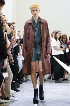 Acne Studios Menswear Spring Summer 2016 Paris - NOWFASHION