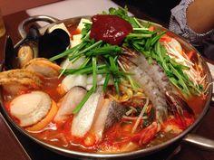 ぶんさん 海鮮チゲ鍋
