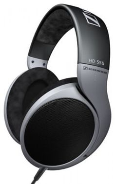 SENNHEISER HD555 OPEN HEADPHONES. The HD 555 is an open, dynamic stereo headphone offering excellent spatial sound for music and audiovisual entertainment. . If you are seeking an audiophile headphone for music & home entertainment without having to pay the earth this is the perfect model for you.