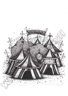 The Night Circus Print by WhimsicalLush on Etsy