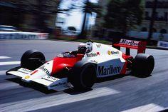 Alain Prost  McLaren - TAG Porsche  Monaco 1986
