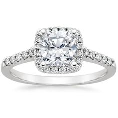 18K White Gold Odessa Diamond Ring (1/4 ct. tw.) from Brilliant Earth