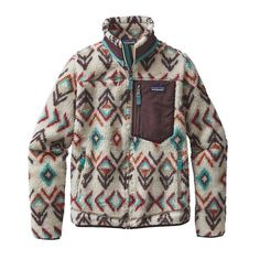 Patagonia Women\'s Classic Retro-X\u00AE Fleece Jacket - Fern Dell: Natural FDNT