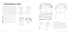 drawing exercises - nondominant hand