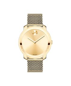 Movado | Movado Bold Mesh Yellow-Gold Plated Watch | Movado CA