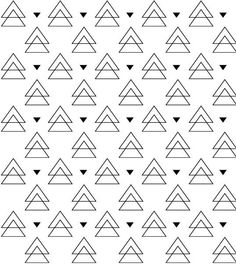 PiLuLiTo ESTAMPAS EXCLUSIVAS triangulos branco