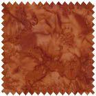 Fresh Water Designs Java Rain Wash Burnt Orange Batik