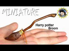 [Miniature DIY] 미니어쳐 해리포터! 빗자루 만들기! Miniature Harry Potter broom /미미네미니어쳐