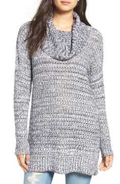 Free shipping and returns on Volcom Something Good Tunic at Nordstrom.com. A marled knit tunic extends the exceptionally cozy appeal of a long-sleeve tunic topped with a chunky cowl neck.