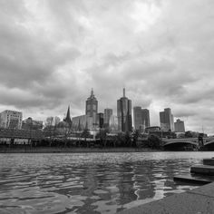 "City Of Melbourne on Instagram: ""50 shades of grey #melbweather #melbourne"""