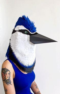 Arjowiggins Creative Papers masker by Kiki Peeters