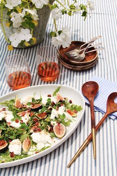 this fig & burrata salad will be your new favorite appetizer of summer