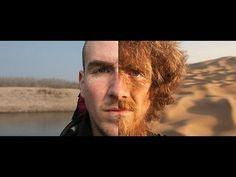 L'avant et après d'un homme qui parcourt 4646 km en Chine simplement à pied !