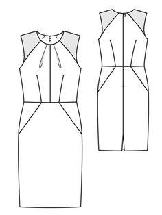 technical drawing fashion - Penelusuran Google