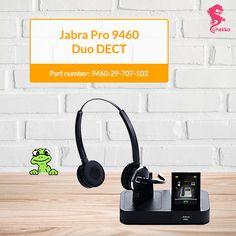 JABRA PRO™ 9450 DUO DECT Part Number: 9450-29-707-102