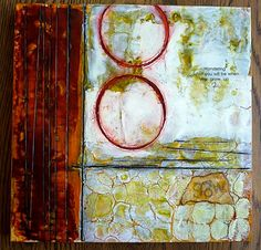 Grow Up original encaustic painting by lvhdesigns on Etsy, $100.00