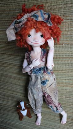 meadowdolls | Totti with Stellamaris wig on