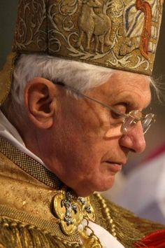 Pope Emeritus Benedict XVI (served as Pope from April 19, 2005-February 28, 2013)