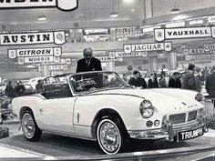 Triumph Spitfire at Earls Court motor show, 1962