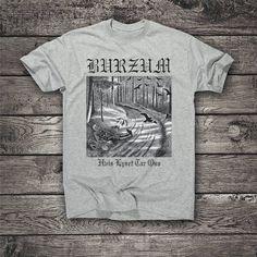 Burzum t-shirt Burzum hoodie Burzum sweetshirt Mens Womens Metal T Shirts, Textile Prints, Metal Bands, Rock Music, Black Metal, Trending Outfits, Hoodies, Mens Tops, Etsy