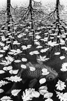 M. C. Escher fascinates me.