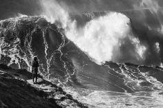 Les plus grosses vagues du monde sont au Portugal, à Nazaré - Photo Luis Ascenso (Flickr) The biggest waves of the world are in Portugal, in Nazaré - Picture Luis Ascenso (Flickr)