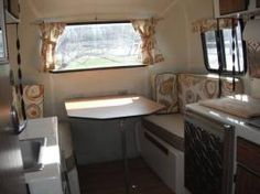 Camel 16 ft. scamp interior.
