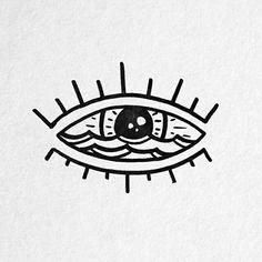 Tatto Ideas & Trends 2017 - DISCOVER Form heart with iris highlights. Bild Tattoos, Neue Tattoos, 1 Tattoo, Tattoo Drawings, Iris Tattoo, Handpoke Tattoo, Eye Logo, Future Tattoos, Easy Drawings