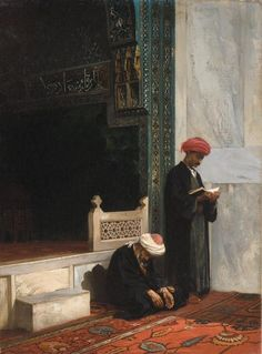 Stanisław Chlebowski was a Polish painter with Russian and Turkish connections. He was a renowned specialist in Oriental themes. Islamic Pictures, Old Pictures, Middle Eastern Art, Islamic Paintings, Art Paintings, Arabian Art, Old Egypt, Ottoman Empire, Moorish