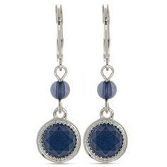 Nine West Denim Silver-Tone Nw Denim Basics Double Drop Earrings (385 HNL) ❤ liked on Polyvore featuring jewelry, earrings, denim, nine west, silver tone jewelry, geometric jewelry, silvertone earrings and silvertone jewelry