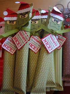 Grinch Candy Bar