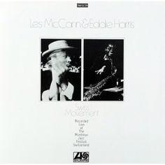 Les McCann & Eddie Harris Swiss Movement LP Vinil 180 Gramas Bernie Grundman Atlantic Rhino EU - Vinyl Gourmet