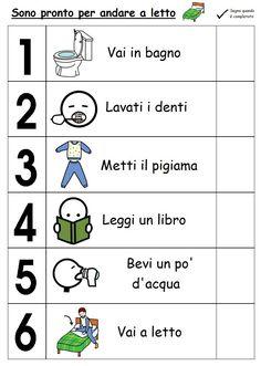 Learning Italian Through Vocabulary Italian Grammar, Italian Vocabulary, Italian Phrases, Italian Words, Italian Language, Basic Italian, Learn To Speak Italian, Morning Routine Kids, Task Analysis